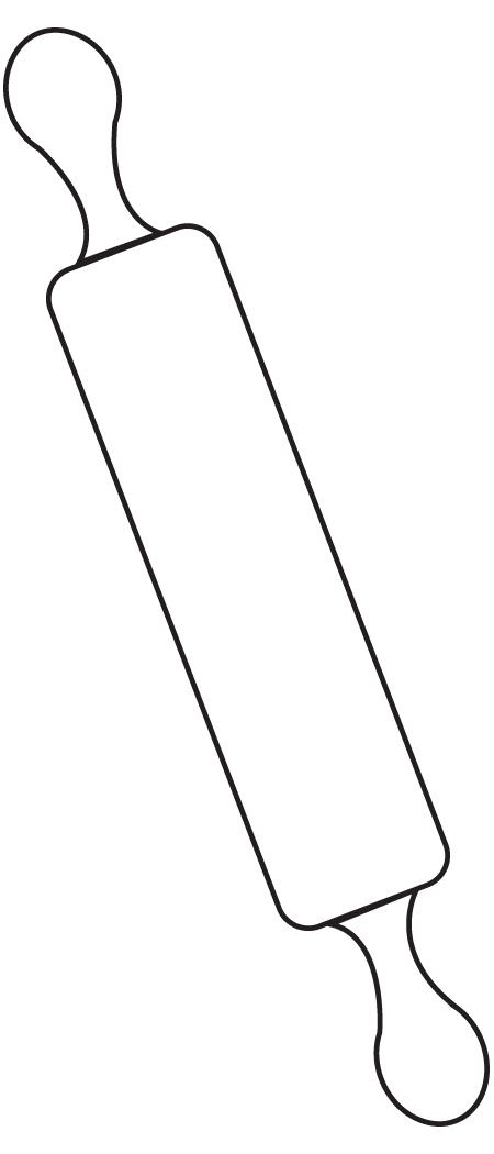 large rolling pin