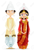 Hindu Wedding Clipart Free Black And White Image