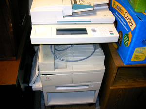 Xerox Photocopy Machine Image