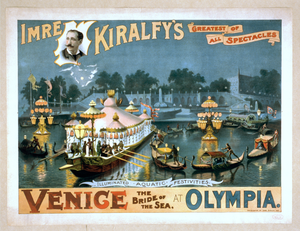 Imre Kiralfy S Greatest Of All Spectacles, Venice, The Bride Of The Sea, At Olympia Image