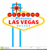 Welcome To Fabulous Las Vegas Clipart Image