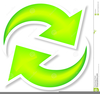 Clipart Of The Refresh Button Image
