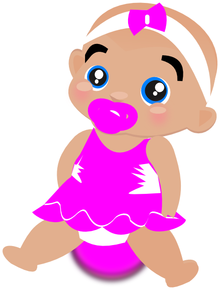 free clipart for baby girl - photo #41