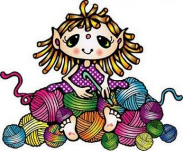 Crocheting Cartoons : Crochet Clipart X Free Images at Clker.com - vector clip art online ...