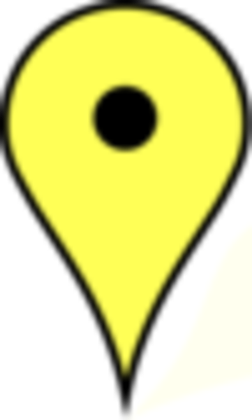 yellow pin clipart - photo #40