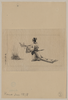 [man Wearing A Sokutai, A Long Ceremonial Robe, Offering Branches To A Fire] Image