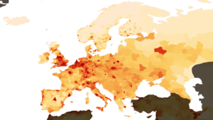 Population Density Europe Image