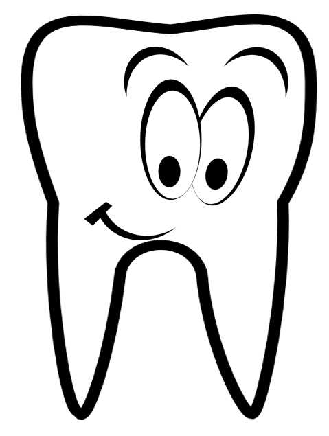 Smiling Tooth | Free Images at Clker.com - vector clip art ...