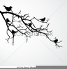 Free Clipart Birds On Branch Image