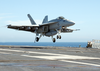 Maiden Combat Deployment Of The F/a-18e Super Hornet. Image
