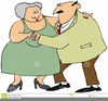 Fat Lady Dancing Clipart Image