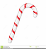 Candy Cane Background Clipart Image