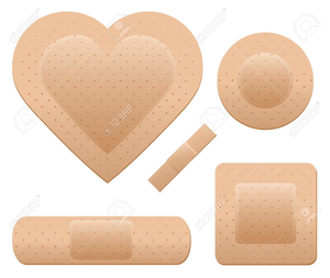 Band Aid Clipart Image