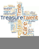 Time Treasure Talents Clipart Image