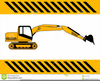 Machinery Clipart Backhoe Image
