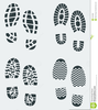 Shoe Prints Animated Clipart Image