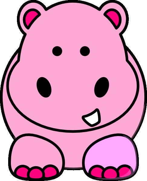 baby hippo clipart - photo #32