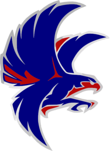 Falcon Blue And Red Clip Art