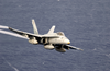 An F/a-18a Hornets Fly Over The Western Pacific Ocean During Flight Operations. Image