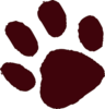 Brown Paw Print Md Image