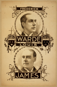 Frederick Warde And Louis James Image