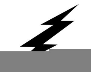 Harry Potter Lightning Bolt Clipart Image