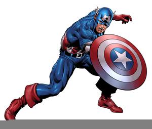 Captain America Clipart Free Images At Clker Com Vector Clip Art