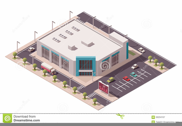 Shopping Mall Building Clipart | Free Images at Clker com - vector