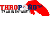 Thropong Red Hand Logo With Slogan Image