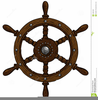 Ship Steering Wheel Clipart Image