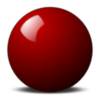 Stellaris Red Snooker Ball Image