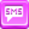 Free Pink Button Sms Image