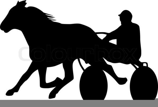 harness racing clipart free images at vector. Black Bedroom Furniture Sets. Home Design Ideas