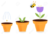 Animated Spring Flower Clipart Image