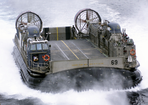 Lcac Approaches Uss Saipan Image