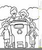 Clipart Of Child Coloring Image