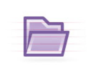 Folder Purple Image