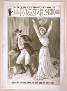 A Tale Of The Kentucky Hills, The Black Hand By W.b. Hurst. Image