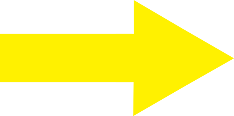Px Yellow Arrow Right  Free Images at Clker.com  vector clip art