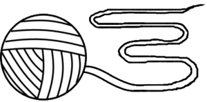Ball Of Yarn Outline Md Image