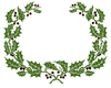 Boughs Of Holly Clipart Image