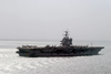 Uss Enterprise (cvn 65) Underway During A Scheduled Deployment. Image