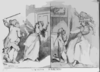 Contrasted Husbands  / Rd. Newton 1795. Clip Art