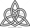 Free Celtic Trinity Knot Clipart Image