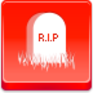 Free Red Button Icons Grave Image
