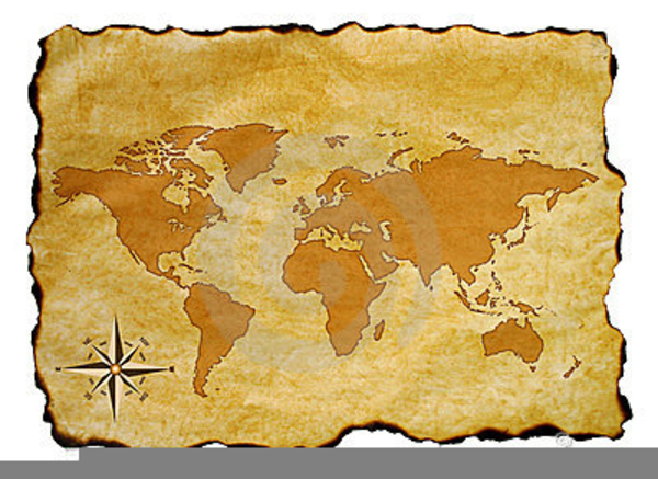 Antique world map clipart free images at clker vector clip download this image as gumiabroncs Image collections