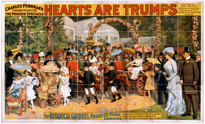 Charles Frohman S $40,000 Production, The Modern Spectacle, Hearts Are Trumps Written By Cecil Raleigh ; Presented As Produced By Arthur Collins At The Theatre Royal, Drury Lane, London. Image