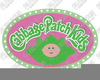 Cabbage Patch Kid Clipart Image