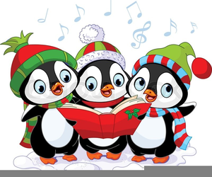 Cute Penguin Christmas Clipart Free Images At Clker Com