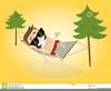 Free Clipart Hammock Cartoon Image